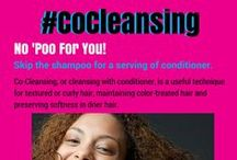 TRENDING: #CoCleansing / No 'Poo For You! Skip the shampoo for a serving of conditioner. #CoCleansing, or cleansing with conditioner, is a useful technique for textured or curly hair, maintaining color-treated hair and preserving softness in drier hair. http://www.rickysnyc.com/now-trending/co-cleansing.html / by Ricky's NYC