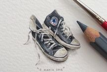 miniatures- land of lilliput / I love all things miniature, whether paintings by Lorraine Loots, or mini teasets, animals, or anything tiny. I'm fascinated by the details in these minuscule creations.