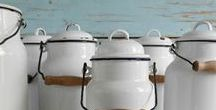 For the love of enamelware