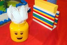 Lego Party / Great party ideas to help you throw a fun, colorful, and sweet Lego party. Featuring decorations, party ideas, dessert tables, party favors , free printables, and more.
