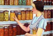 ~CANNING~N~MISC~ / Nothing looks prettier then a cabinet full of your own home grown, hand canned produce, jams or jellies. The possibilites are endless! / by Connie Jones-Matias