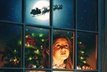 ~CHRISTMAS~ART~ / When Christmas Day is here...The most wonderful day of the year!   / by Connie Jones-Matias