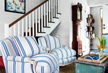 Blue & White / Blue and white decor