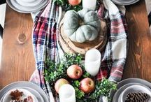 TABLE DECOR / Decorating ideas for your table, including everyday decor, seasonal and holidays.