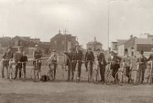 """Wheel Fever / Bike paths, city streets, and winding country roads, the bicycle seems ubiquitous in the Badger State. Read about the in depth history of biking in Wisconsin with """"Wheel Fever!""""  http://shop.wisconsinhistory.org/productcart/pc/viewPrd.asp?idcategory=&idproduct=1553"""