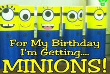 Minion Party / Great party ideas to help you throw a fun, colorful, and sweet Despicable Me party or Minion party. Featuring decorations, party ideas, dessert tables, party favors , free printables, and more.