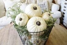 FALL  DECOR / Awesome decorating ideas for the fall season