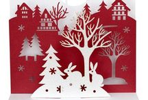 ~CHRISTMAS~CUTOUTS~ / Let's cut some Christmasy paper!! Fun!! / by Connie Jones-Matias