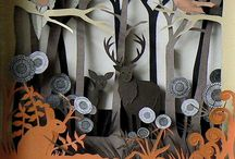 ~BOO~TIME~CUTS~ / Halloween paper cutting fun!! / by Connie Jones-Matias