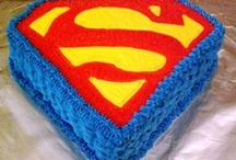Superman / All the party decorations, party ideas, party printables, and more for a Superman birthday party that will have you the hero with your party guests.
