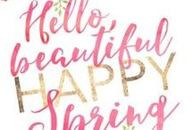 Free Spring Printables / Best free printables for Spring!