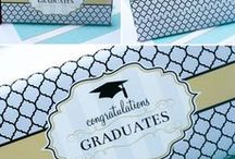 Free Graduation Printables / Free graduation Printables for all: College, High School, 8th Grade, Kindergarten! Great ideas for a graduation party.