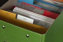 Organization is key / I love to organize.  Here are some great ideas!