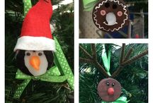 Christmas Cheer / Christmas recipes, ornaments, DIY and gift ideas.  / by Close to Home Blog LLC