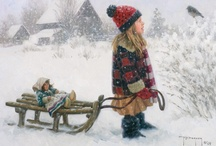 Winter * Canvased / by Martha Petersen