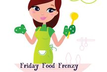 Friday Frenzy--weekly craft and recipe linky / sharing our featured recipes and crafts from our weekly linky party