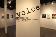 Voice - Clark County Juried Show / VOICE, a juried exhibition of high school artwork from around the Las Vegas Valley, will be on display at the Contemporary Arts Center insde the Arts Factory from March 6, 2013 through March 15, 2013. An opening reception and awards ceremony will be held on Thurs- day, March 7 from 6-8 pm with awards being presented at 7 pm.