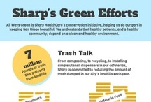 Going Green / From its cafeterias to its clinical spaces, Sharp HealthCare is committed to preserving the earth we share.