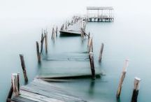 Cottage by the Sea / A true California girl knows the true soothing feeling of sitting at the beach and gazing out upon the water with all it's beauty. Surrounding myself with ocean hues is tranquilizing to my soul and softens my mood for a peaceful and relaxing environment. A beautiful beach setting also reminds me that I am tied to the sea and offers me true peace even in it's absence. / by Jacqueline Griffin