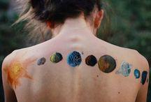 Art on skin ╳ / Tattoos, henna, or just plain marker.  / by Lina Kadhim 🇮🇶