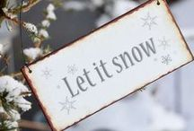 Christmas - Let It Snow / by Jacqueline Griffin