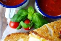 Soups, Sandwiches and Sides / The perfect meal!!!