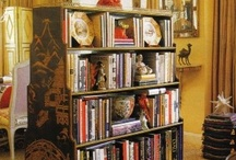 Chinoiserie Books & Bookcases / My picks for books that include Chinoiserie interiors and how to display your books with Chinoiserie style. Also great ideas on painting or wallpapering the backs of bookcases. / by Beth Connolly // Chinoiserie Chic