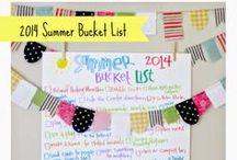 Seasons :: Summer Lists / by Art by Erin Leigh