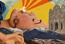 Art Lesson Ideas: Collage / by Michelle McGrath