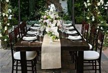 WEDDING: tablescapes