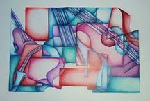 Art Lesson Ideas: Cubism / by Michelle McGrath