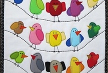 Quilts - Appliques - Birds & B. Patterns / by Shirley Tronnes