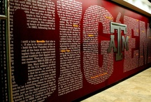 Gig 'Em, Aggies! Whoop! / by Mona Schroeder