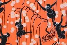 Chinoiserie Halloween / Love orange and black and Chinoiserie? / by Beth Connolly // Chinoiserie Chic