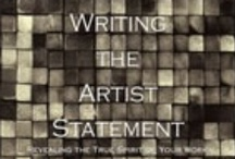 Artist Statement Writing & Marketing / by Michelle McGrath