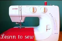 SEWING FOR BEGINNERS / by Terry Hobson