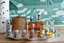 Bar Cart Style / by Katie/ Lacewing Vintage