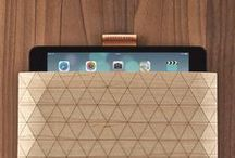 Grovemade iPad Collection / Handcrafted Bamboo or Walnut iPad case for your iPad Air and iPad Mini (retina). Made in house, by real people in Portland, Oregon. / by Grovemade