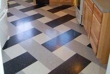 Flooring options / by Samantha Garrison