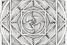 Zentangle Mandalas / by Michelle McGrath