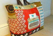 Totes & Bags / Patterns for handmade totes, bags & pouches / by Mona Schroeder