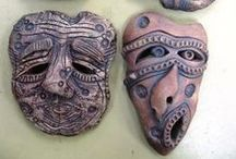 Art Lesson Ideas: Masks / by Michelle McGrath