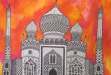 Art Lesson Ideas: Castles / by Michelle McGrath
