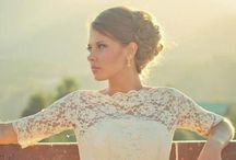 Sleeved Wedding Gowns / elyseREUBEN custom creations with sleeves. / by Jaime Elyse