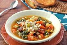 Soup / Hearty soup recipes for chilly days and nights.