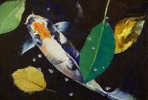 Art Lesson Ideas: Koi Fish / by Michelle McGrath