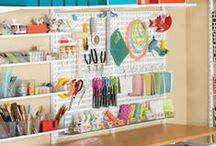 Organized Space / Organization is key to productive mind.