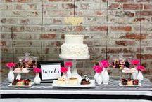 Dessert Tables / Dessert table decor and inspiration.