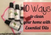 Cleaning Tips / All natural and non toxic cleaning to help your family safe and healthy. If you are Spring Cleaning, you'll want to check out some of these tips. / by Melissa Hurst {SavingCentsWithSense.net}