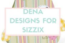 """DENA DESIGNS FOR SIZZIX / """"Embellish your life"""" is Dena's motto, and her products, books and media exposure have reached a legion of fans that value friendship, home, family and self-expression. As President and Creative Director of Dena Designs, Inc., Dena has beautifully juggled the roles of designer, businesswoman and mom while crafting a hugely successful company, lifestyle brand and wide array of products, ranging from home décor and accessories to greeting cards, gifts, craft items, books and more. What began 20 years ago as a Bloomingdale's best-selling bedding collection is now a merchandising/media program generating multi-millions in worldwide sales. Learn more at DenaDesigns.com. / by Sizzix"""